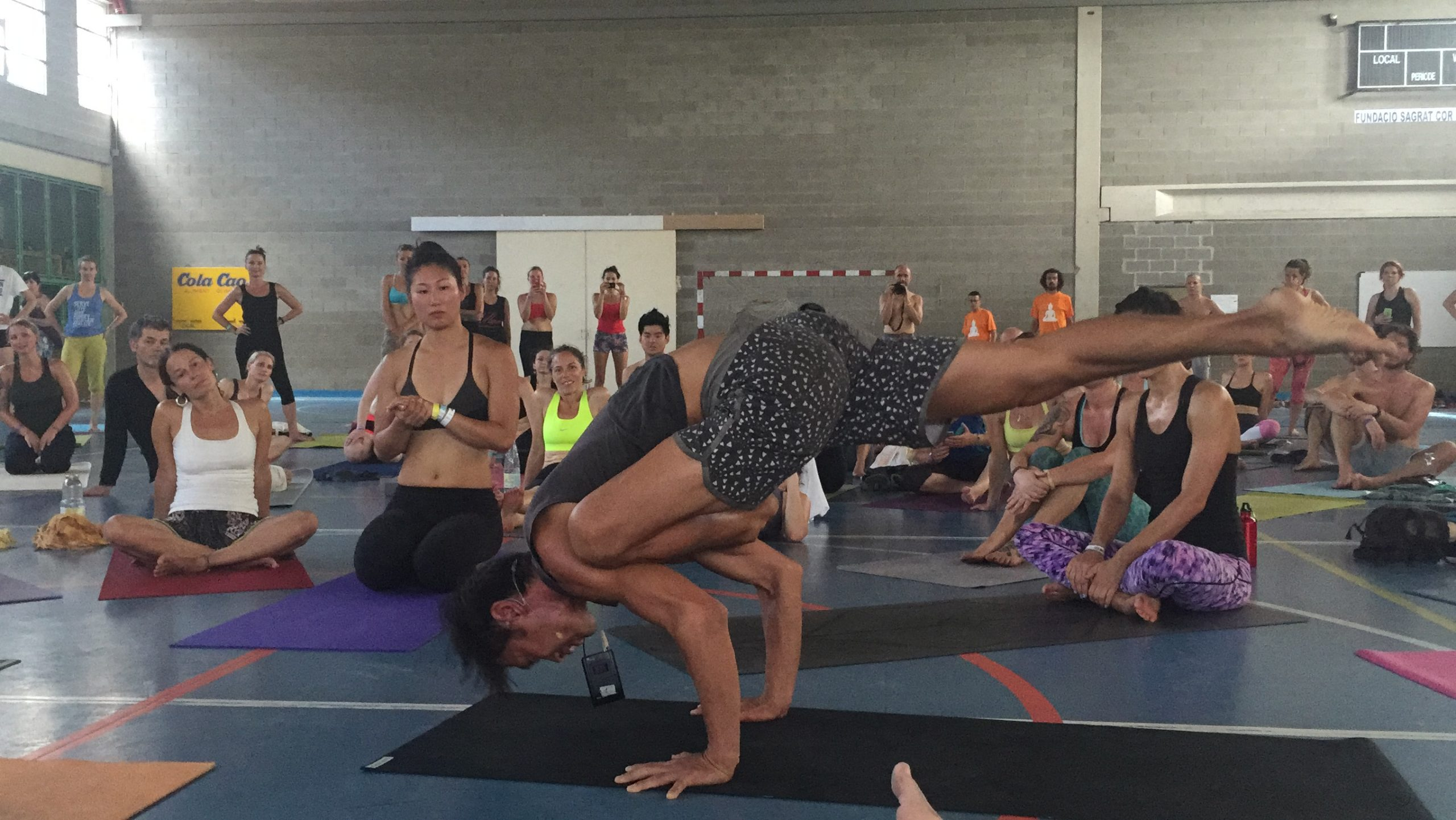 Barcelona Yoga Conference, Simon Park