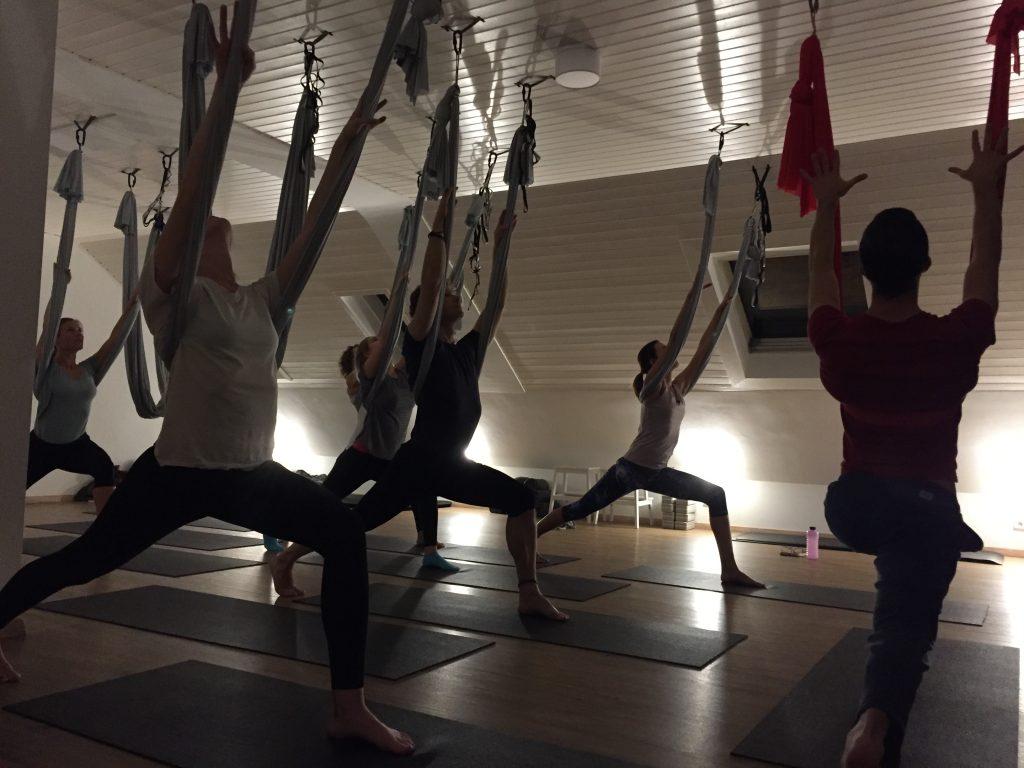 FLYoga, Aerial Yoga