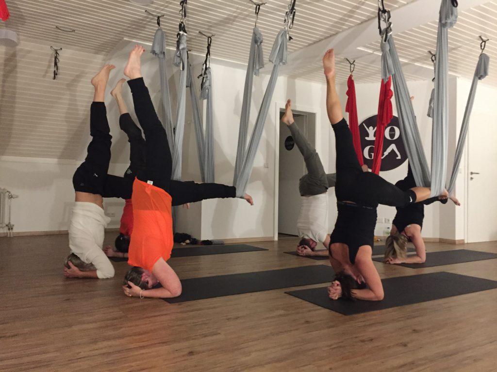 FLYoga, Heidelberg, Aerial AntiGravity Yoga