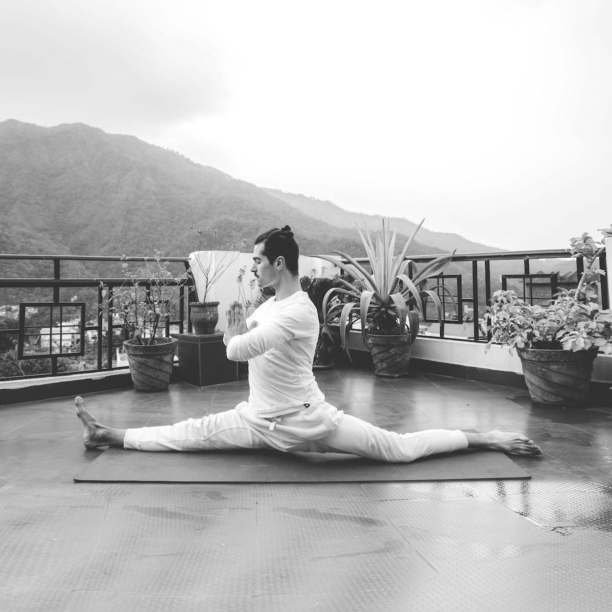 Paolo Amerio, dance yoga