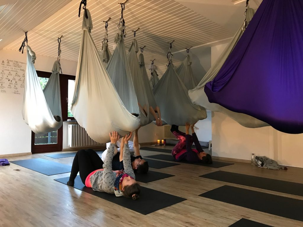 Aerial Yoga teacher training, Heidelberg
