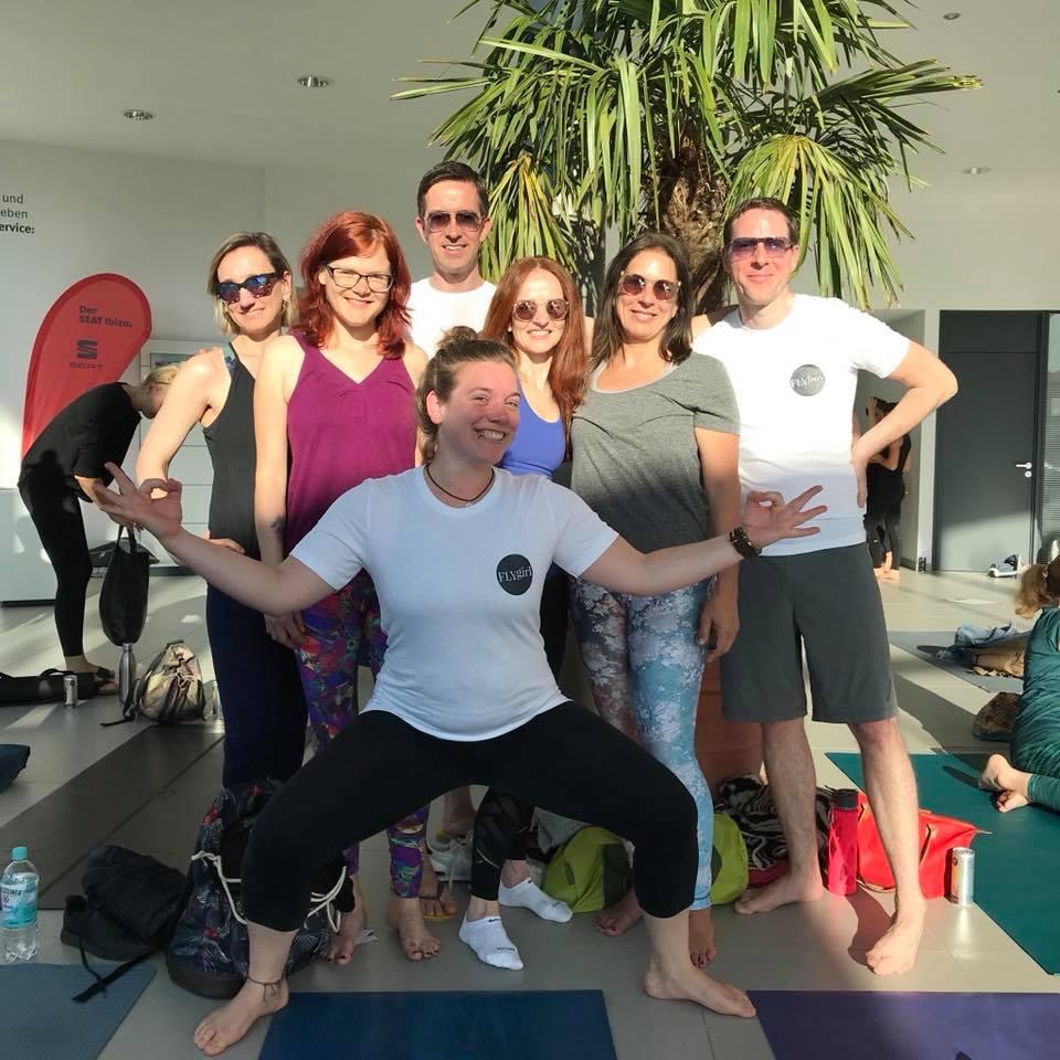 yogaonbeat betriebsausflug