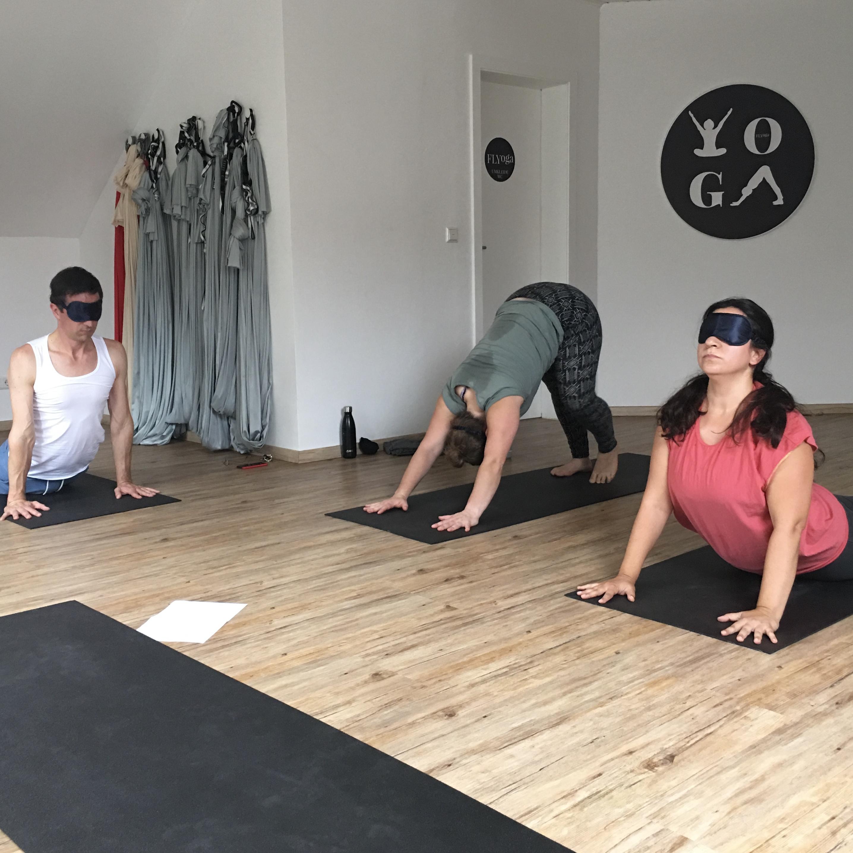Vinyasa Yoga Blindflug